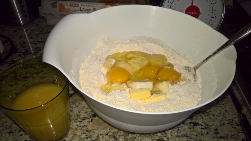 biscottoni arancia ingredienti