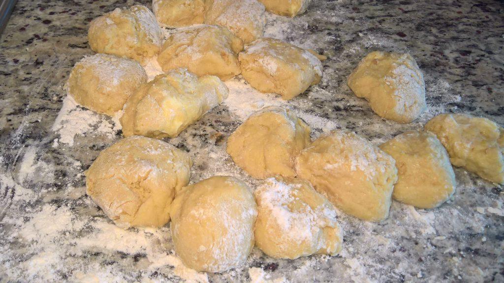 biscottoni arancia impasto