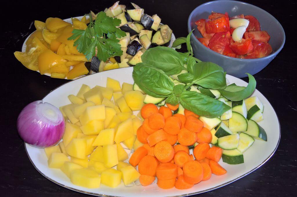 Stufato di verdure a modo mio