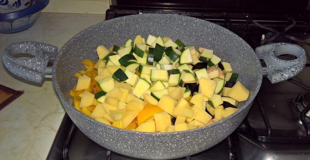 Stufato di verdure di casa mia
