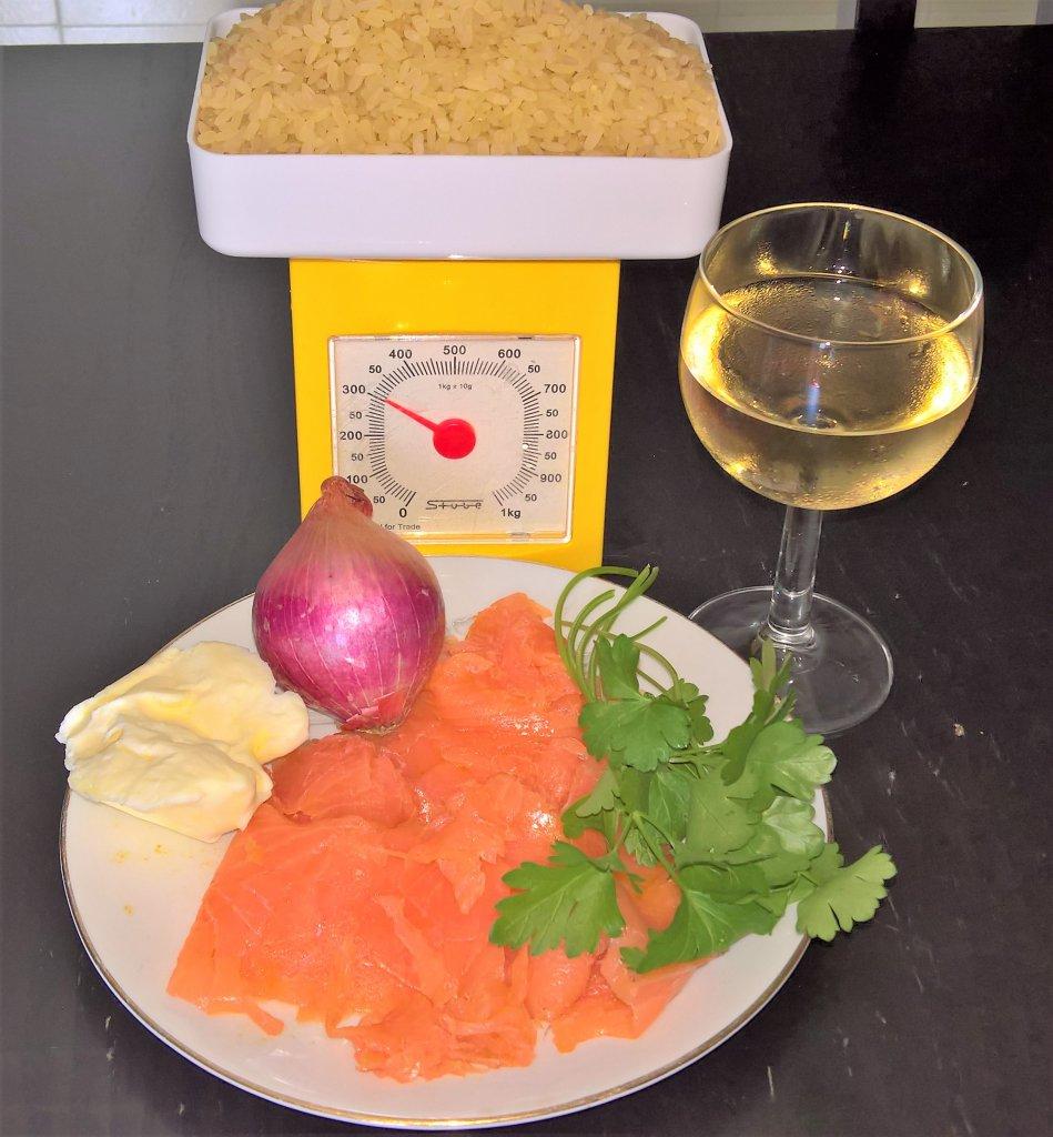 risotto salmonato
