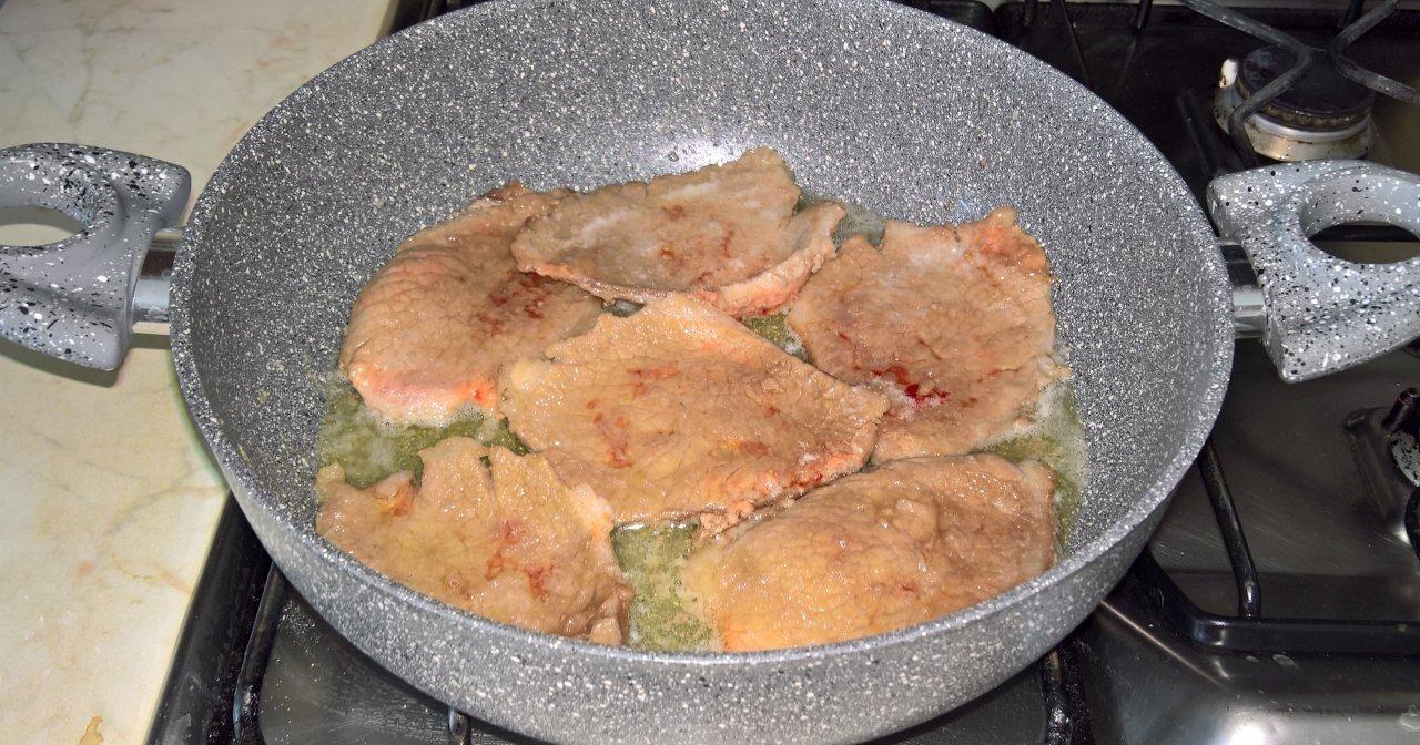 Carne al limone scaloppine