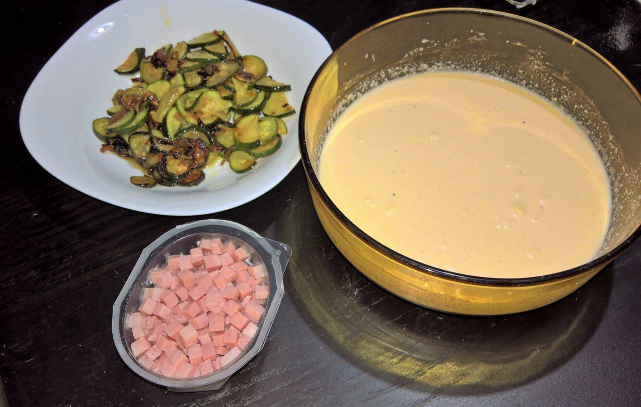 sfogliata panna e zucchine