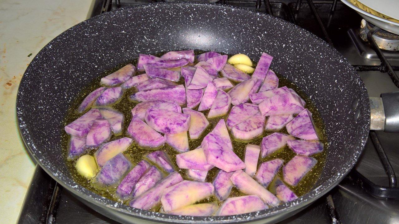 Padellata di peperoni e patate