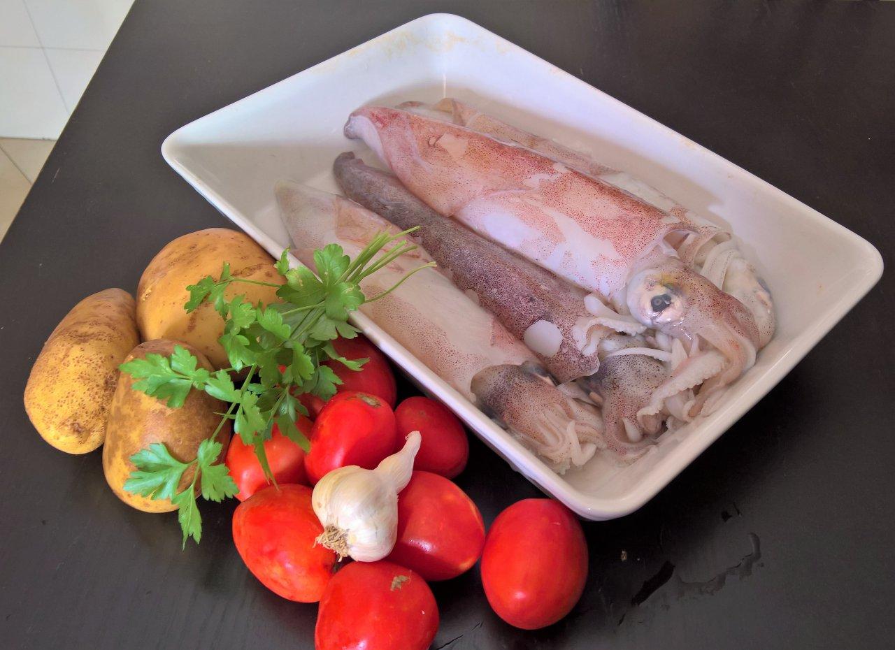 Calamari imbottiti al forno
